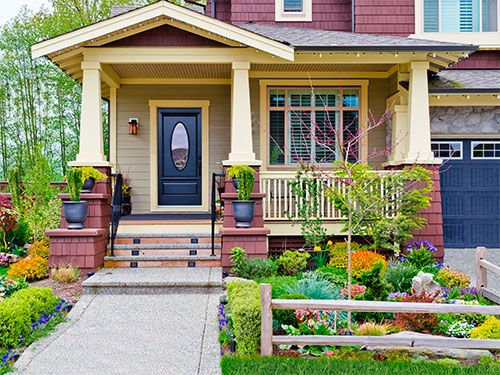 <p>It only takes a small investment to create a huge impact. Paint your door, buy a couple of new mats or plant some carefully considered plants—you can add some serious curb appeal with these inexpensive tips. </p>