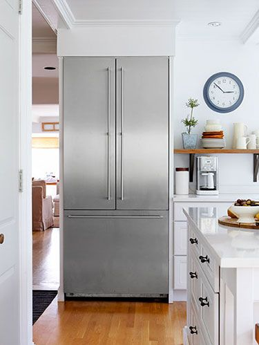 <p>Do you have an old refrigerator in the garage or basement that you use for bonus food storage? While handy, this appliance is using precious electricity—particularly when it's hot out and the machine has to work harder to stay cool. Instead, consolidate everything in your main fridge and unplug the extra one—you'll save as much as 12% on your next bill. If you really need the space, fill the gaps inside the second fridge with gallon jugs of water to help it retain cold when you open the door.</p> <p>COST: Free!<br /> SAVINGS PER YEAR: $76</p>