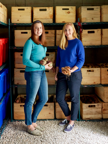 "<p>Alexandra ""Finn"" McFarland, 18, and Anna Ramsey, 18 --Woodstock, VT</p> <p>Anyone who assumes teenage girls would rather spend their time taking selfies than helping others hasn't met Alexandra ""Finn"" McSarland and Anna Ramsey. In 2011, as ninth graders, Finn and Anna volunteered to deliver produce to Woodstock's local food pantry through the nonprofit Change the World Kids. While there, they noticed the pantry didn't have fresh fruits and vegetables after October because there was no suitable storage. ""Everyone should have access to healthy food year-round,"" says Anna.</p> <p>The girls researched ways to store produce during colder months, and by tenth grade hit on the idea of constructing a root cellar like the ones used before the advent of electricity: a structure built into the earth that keeps food fresh for months. ""But getting the project approved by the town—it seemed daunting,"" Anna admits. Still, the duo formed a committee with other Change the World Kids, did research into how cellars were constructed and what permits they'd need to build, then found a site behind the town's elementary school.</p> <p>In 2012—with a volunteer contractor, a structural engineer and an excavator—the determined crew began building. The root cellar officially opened on October 6, 2013. The community donated produce throughout October, and some local farmers set aside plots specifically for the food bank or gave the cellar their leftovers, which included apples, onions and other vegetables. ""We ended up with enough to sustain the food bank all winter!"" Finn says.</p> <p>Now freshmen in college (the two split a $5,000 scholarship through the Gloria Barron Prize for Young Heroes), Finn and Anna still brainstorm with the kids who run the cellar about ways to expand. ""I can't wait to visit during vacations and see it stocked with vegetables,"" says Anna. ""That's a huge feeling of accomplishment.""</p> <p>To find out more about the root cellar project, go to<em> </em><a href=""http://www.changetheworldkids.org/"" target=""_blank"">ChangetheWorldKids.org</a>.</p>"