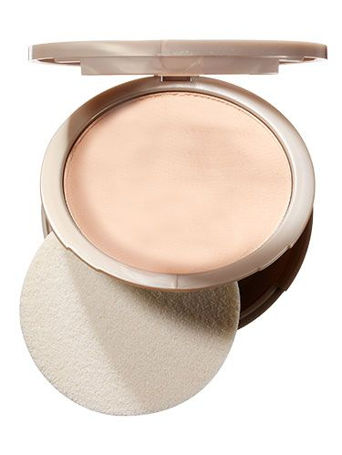 "<p>Look for a mineral powder foundation—it soaks up and distributes moisture as needed.</p> <p>Neutrogena Mineral Sheers Powder Foundation, $14; <a href=""http://www.amazon.com/Neutrogena-Mineral-Sheers-Foundation-Natural/dp/B0014A5P8C/ref=sr_1_1?ie=UTF8&qid=1405972390&sr=8-1&keywords=Neutrogena+Mineral+Sheers+Powder+Foundation"" target=""_blank"">Amazon.com</a></p>"