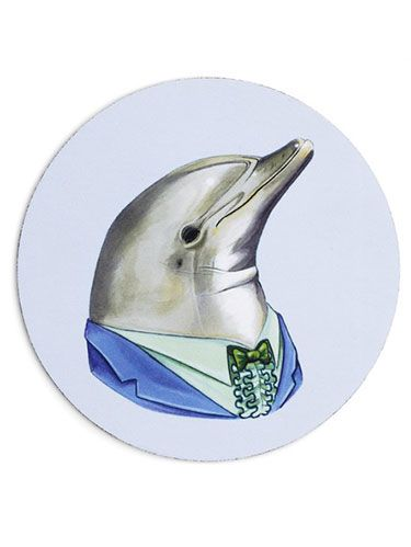 """<p>Dive into your computer work with this cute creature.</p><p><em>Dolphin Mouse Pad, $15&#x3B; </em><a href=""""http://common-rebels.myshopify.com/collections/mouse-pads/products/dolphin-mouse-pad"""" target=""""_blank""""><em>CommonRebels.com</em></a><em>. Enter <strong>WD20 </strong>at checkout for 20% off.</em></p>"""