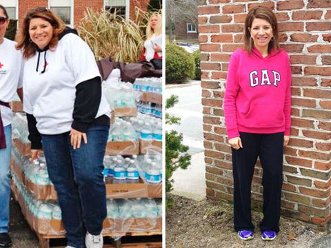 "<p>After years of yo-yo dieting, Denise Gaughan, 43, of Selden, NY, shed 97 pounds through Weight Watchers at Work. But instead of showing off her new figure, ""I was choosing outfits based on how well they covered me up,"" she admits. To help her face her fashion fears, Denise teamed up with lifestyle expert and WD contributing editor Clinton Kelly. First, he encouraged Denise to get rid of everything that was too big. ""It's time to celebrate who you are right now, and dress the body you've worked hard for,"" Clinton says.</p>"