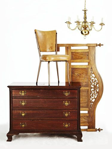 <p>Whether you're a shopping regular at thrift stores, auctions or even Craigslist, there are amazing gems-in-the-making, just waiting for your DIY touch. Keep reading to see the dramatic results of these pieces, and find out how to make these makeovers happen.</p>