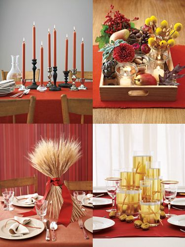 <p> Creating a beautiful holiday display doesn't have to be difficult—or expensive. Simply gather a few items you already own, combine with store-bought flourishes and add a touch of creativity, and you're done. From a colorful candlestick display to a bloom-filled bowl, discover innovative ways to make any surface shine. </p>