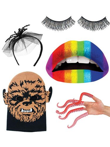 <p> Looking for the right accessory to finish off your costume this Halloween? One of these killer touches will definitely do the trick. Click through to see eight items that will help transform you, no matter what you have planned for October 31st. </p>