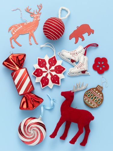 <p> Alone or combined with white, this time of year, red is always right. Click through to see 9 affordable red ornaments that will put the merry in your tree's Christmas. </p>