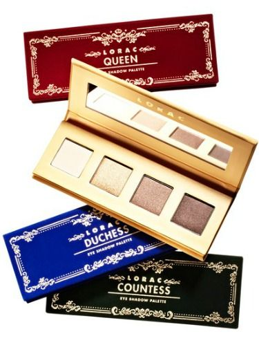 "<p><strong>LORAC The Royal Eye Shadow Collection</strong> ($38&#x3B; <a href=""http://www.ulta.com/ulta/browse/productDetail.jsp?productId=xlsImpprod11331073"" target=""_blank"">Ulta.com</a>) features four sets of jewel-tone shadows that are long-wearing with a velvety smooth finish (just like the posh packaging!).</p>"