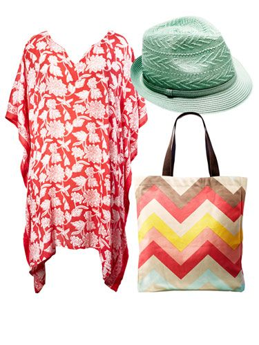 <p>Pretty pastel accessories are beach-bound essentials.</p>