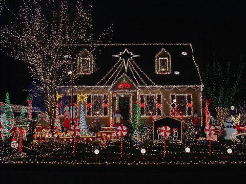 "<p>Maybe it's because there are so many dark hours in winter, but we can't get enough of the dazzling displays that make the holiday season merrier. Though we prefer to appreciate the residences from afar (we wonder how the neighbors feel about all the visitors these homes attract!), here's a sampling of some of the most spectacular <a href=""http://www.womansday.com/home/holiday-decorating-ideas/7-decked-out-christmas-houses-101251"">outdoor Christmas decorations</a>.</p>"