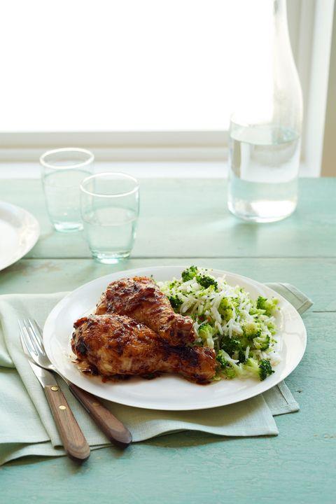 easy chicken dinner recipes -orange glazed drumsticks