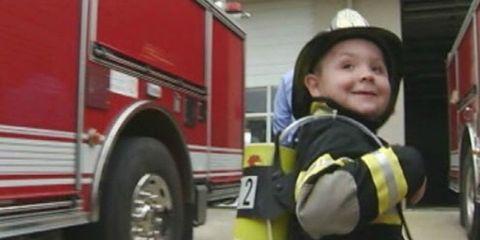 Boy Firefighter