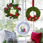 diy christmas decorations holiday window display