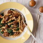 Gemelli-with-Spicy-Sausage-Spinach-Recipe