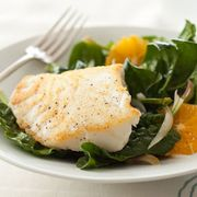 Halibut-with-Spinach-Oranges-Olives-Recipe