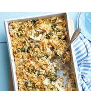 """<p>Trisha Yearwood uses pressure-cooked chicken breasts for the main ingredient in this dish. The rich casserole will feed a crowd or make great leftovers.</p> <p><strong><a href=""""http://www.womansday.com/recipefinder/baked-broccoli-chicken-casserole-recipe-wdy0914"""" target=""""_self"""">Get the recipe</a></strong></p>"""