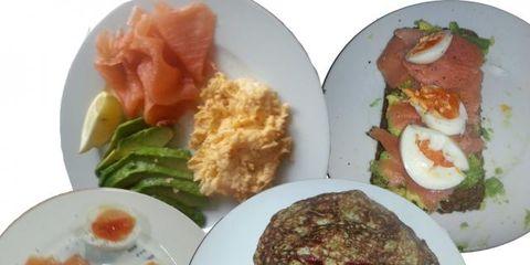 Food, Cuisine, Dish, Dishware, Plate, Ingredient, Meal, Tableware, Breakfast, Serveware,