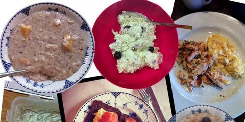 Food, Cuisine, Meal, Dish, Dishware, Tableware, Ingredient, Rice, Plate, Steamed rice,