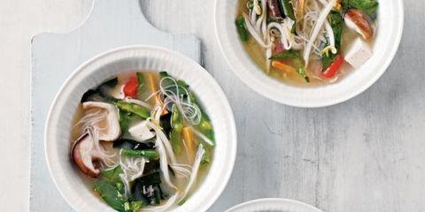 Food, Soup, Cuisine, Ingredient, Produce, Dish, Recipe, Tableware, Bowl, Garnish,