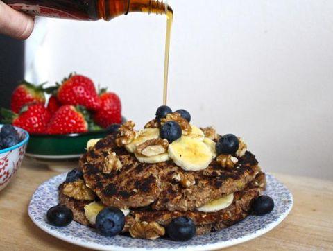 Food, Ingredient, Plate, Tableware, Serveware, Dishware, Dish, Cuisine, Breakfast, Meal,