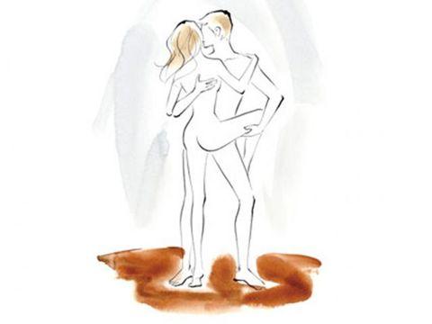 Dance sex position
