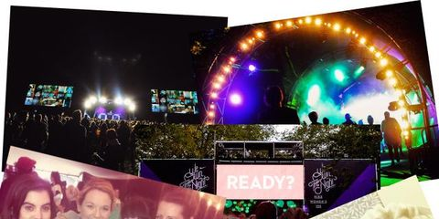 Display device, Purple, Stage equipment, Stage, Music venue, Visual effect lighting, Advertising, Top, Flat panel display,
