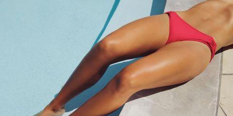 Human leg, Elbow, Joint, Swimwear, Thigh, Undergarment, Muscle, Swimsuit bottom, Knee, Calf,
