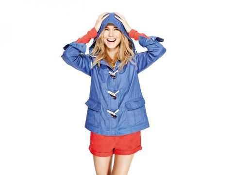 Sleeve, Collar, Standing, Electric blue, Uniform, Jacket, Tooth, Cobalt blue, Street fashion, Active shorts,