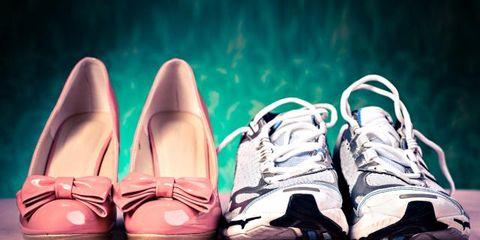 Footwear, Shoe, Product, Brown, White, Pink, Light, Carmine, Tan, Fashion,