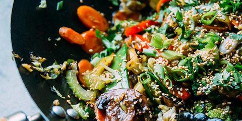 Food, Dish, Cuisine, Ingredient, Salad, Produce, Recipe, Vegetable, Meat, Thai food,