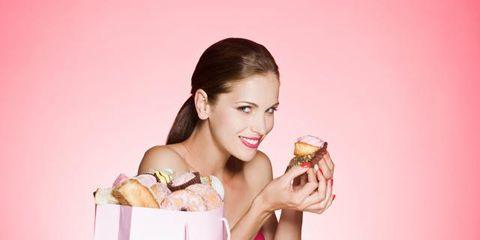 Sweetness, Dessert, Food craving, Cuisine, Peach, Fruit, Dish, Box, Finger food, Baked goods,