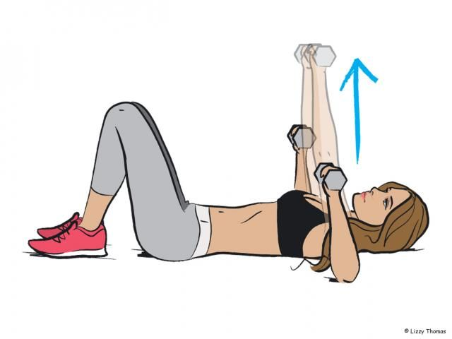How To Do: A Dumbbell Floor Press
