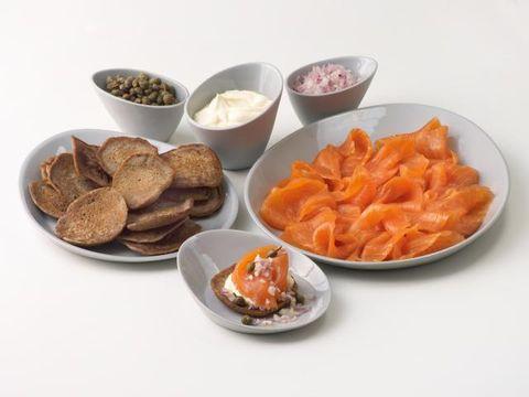 Food, Cuisine, Dishware, Serveware, Tableware, Ingredient, Plate, Dish, Orange, Finger food,