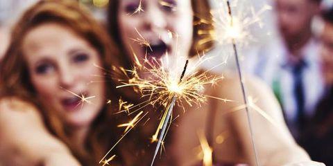 Finger, Event, Celebrating, Nail, Fireworks, Holiday, Sparkler, Youth, Blond, Brown hair,