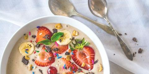 Dish, Food, Cuisine, Ingredient, Chowder, Vegetarian food, Clam chowder, Produce, Recipe, Corn chowder,