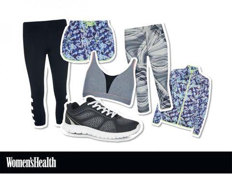 Clothing, Footwear, Blue, Product, Trousers, White, Sportswear, Style, Pattern, Font,