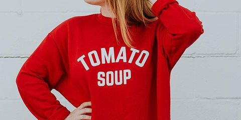 Clothing, Red, Sleeve, Outerwear, Shoulder, Neck, Hood, Hoodie, T-shirt, Joint,