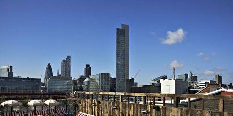 Tower block, City, Urban area, Metropolitan area, Building, Commercial building, Metropolis, Skyscraper, Condominium, Cityscape,