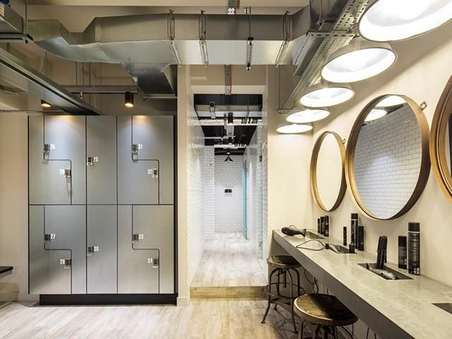 The best gym changing rooms in london