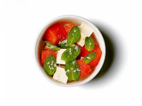 Food, Ingredient, Produce, Natural foods, Vegetable, Fruit, Leaf vegetable, Strawberry, Strawberries, Tableware,