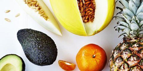 Produce, Natural foods, Vegan nutrition, Food, Ingredient, Fruit, Ananas, Whole food, Local food, Food group,
