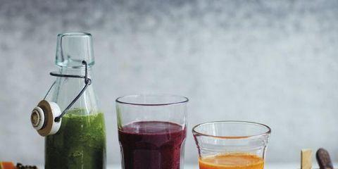 Liquid, Fluid, Drinkware, Ingredient, Drink, Juice, Tableware, Glass, Vegetable juice, Bottle,