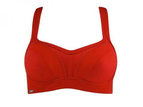 Red, Undergarment, Brassiere, Carmine, Pattern, Maroon, Swimwear, Lingerie, Briefs, Lingerie top,