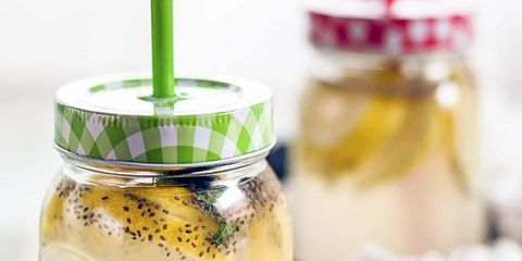 Fluid, Yellow, Mason jar, Preserved food, Canning, Food storage containers, Ingredient, Liquid, Pickling, Home accessories,