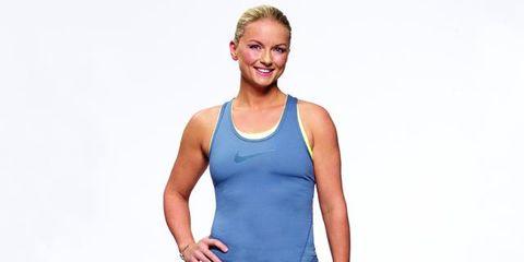 Human body, Sleeve, Shoulder, Elbow, Sleeveless shirt, Standing, Undershirt, Joint, Sportswear, Waist,