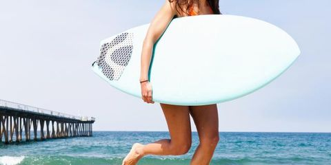 Body of water, Fun, Surfboard, Coastal and oceanic landforms, Sand, Shore, Surfing Equipment, People in nature, Elbow, Summer,