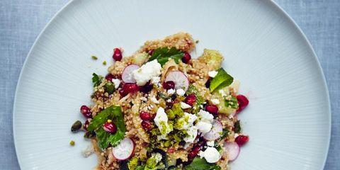 Food, Dishware, Cuisine, Serveware, Leaf vegetable, Salad, Recipe, Dish, Ingredient, Plate,