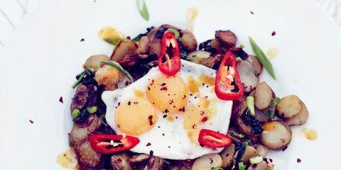 Food, Dishware, Produce, Ingredient, Dish, Recipe, Garnish, Cuisine, Serveware, Breakfast,