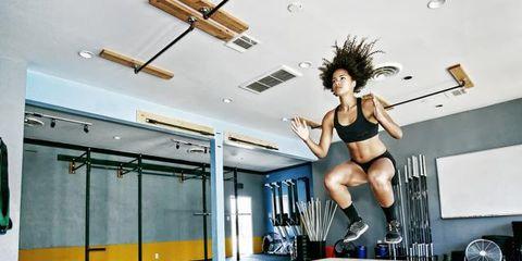 Human leg, Ceiling, Floor, Knee, Thigh, Calf, Physical fitness, Undergarment, Trunk, Undergarment,