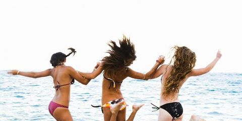 Fun, Brassiere, Swimsuit top, Photograph, Swimwear, Bikini, People on beach, Swimsuit bottom, Summer, Leisure,