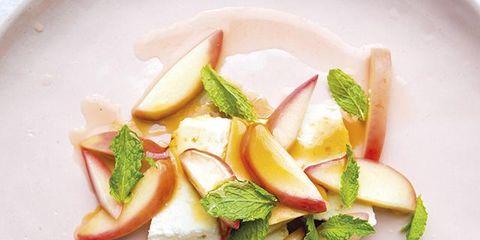 Food, Dishware, Produce, Natural foods, Garnish, Vegetable, Culinary art, Plate, Fruit, À la carte food,